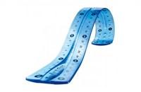 Фото 2. Гибкий треугольник Maped Flex, синий, 13 см, 45 гр., 244421