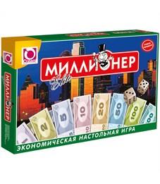 """Игра настольная Origami """"Экономическая. Миллионер-Elite"""", картонная коробка"""