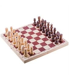 Игра настольная Шахматы, Орловские шахматы, обиходные, парафинированные, с доской