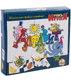 """Игра обучающая Десятое королевство """"Учись играя. Алфавит"""", картонная коробка"""