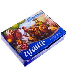 """Гуашь Луч """"Фантазия"""", 12 цветов, 15мл, картон"""