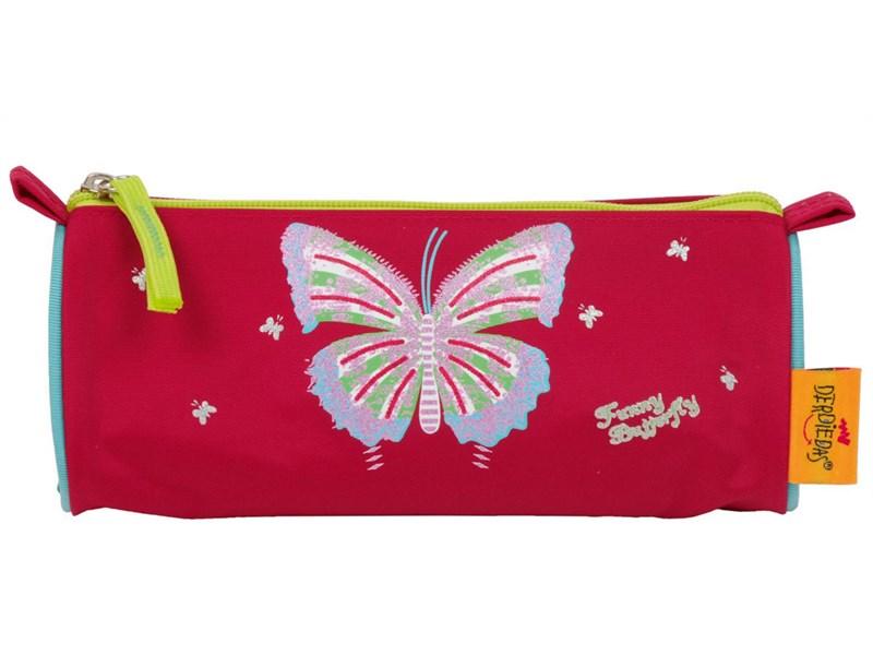 Школьный ранец DerDieDas ErgoFlex XL Funny Butterfly с напол.