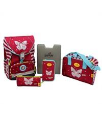 Фото 2. Школьный ранец DerDieDas ErgoFlex XL Funny Butterfly с напол.