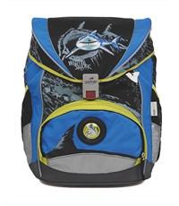 Школьный ранец DerDieDas Ergo Flex XL White Shark с наполнением