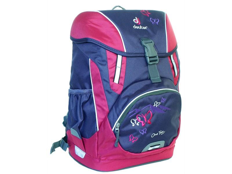 1cde061217f7 Школьный рюкзак Deuter OneTwo Фиолетовая бабочка 3830015-3029