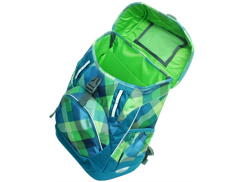 Рюкзак школьный Deuter OneTwo Сине-зеленая клетка