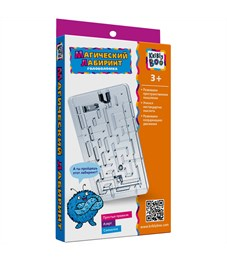 "Игра-головоломка Kribly Boo ""Магический лабиринт"", пластик, от 3-х лет, картонная коробка"