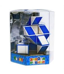 """Игра-головоломка Rubik's """"Змейка большая. Twist"""", 24 элемента, пластик, от 5-ти лет, ПВХ коробка"""