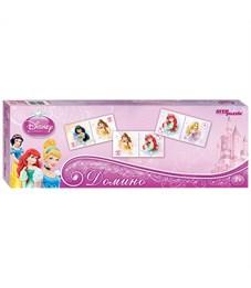 """Игра настольная Домино, Step Puzzle """"Disney. Принцессы"""", картонная коробка"""