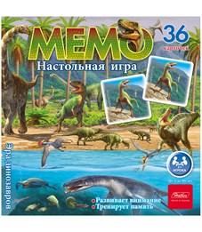 """Игра настольная Hatber """"Эра динозавров"""", мемо, 36 карточек"""