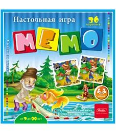 """Игра настольная Hatber """"Сказка за сказкой"""" мемо, 36 карточек"""