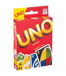 """Игра настольная Mattel """"UNO"""", картонная коробка"""