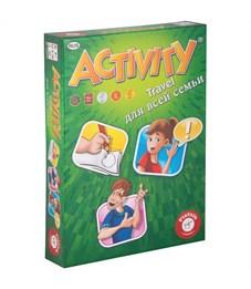 """Игра настольная Piatnik """"Activity. Travel для всей семьи"""", компактная версия, картонная коробка"""