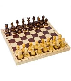 Игра настольная Шахматы, Орловские шахматы, обиходные деревянные, с доской