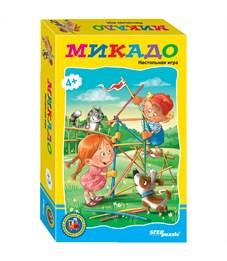 """Игра настольная Step Puzzle """"Возьми с собой. Микадо"""" с цветными палочками, картонная коробка"""