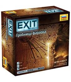 """Игра настольная Звезда """"EXIT Квест. Гробница фараона"""", картонная коробка"""