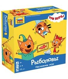 """Игра настольная Звезда """"Три кота. Рыболовы"""", картонная коробка"""