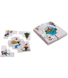 """Фото 3. Игра обучающая Десятое королевство """"Учись играя. Времена года"""", картонная коробка"""