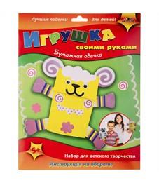 """Игрушка на руку Апплика """"Бумажная овечка"""", картонная коробка, европодвес"""