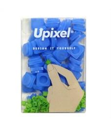 Пиксельные фишки маленькие WY-P002 однотонные Темно-синий, 80 шт.
