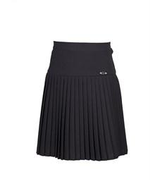 Юбка для девочки Смена черная 3К40
