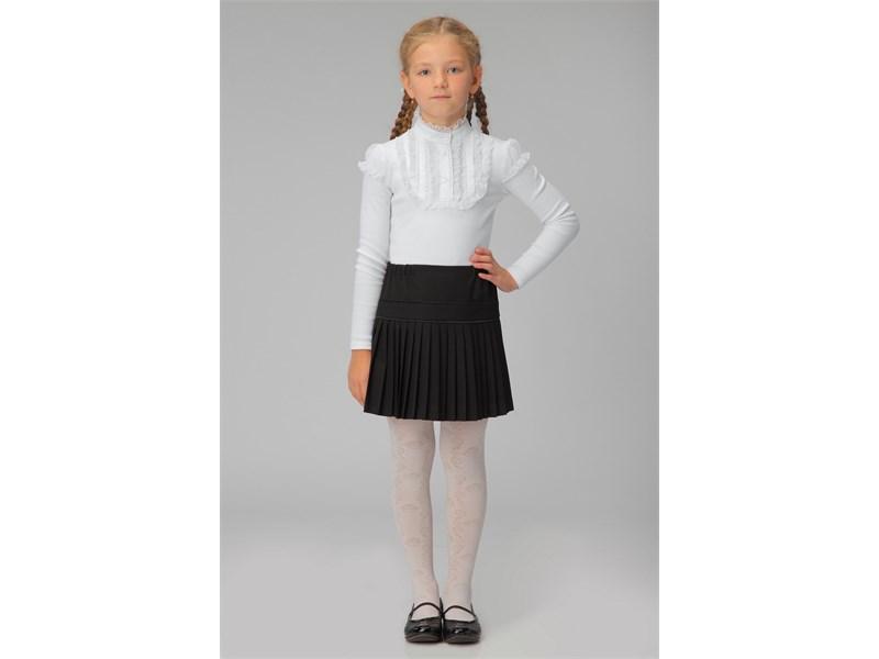 Юбка школьная Инфанта плиссированная, черная