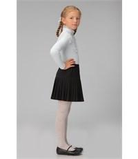 Фото 2. Юбка школьная Инфанта плиссированная, черная