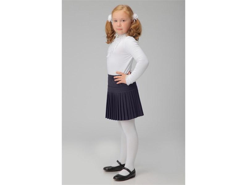 Юбка школьная Инфанта плиссированная, синяя