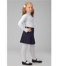 Фото 2. Юбка школьная Инфанта плиссированная, синяя