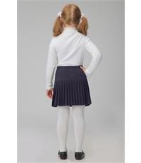 Фото 3. Юбка школьная Инфанта плиссированная, синяя