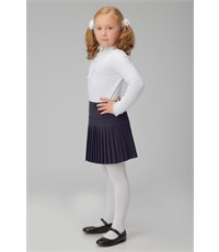 Фото 4. Юбка школьная Инфанта плиссированная, синяя