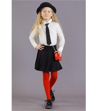 Фото 3. Юбка школьная Маленькая леди черная плиссированная
