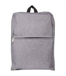 """Рюкзак ArtSpace """"Casual"""" 39*29,5*10см, 1 отделение, 1 карман, уплотненная спинка, серый"""