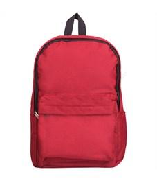 """Рюкзак ArtSpace """"Casual"""" 47*29*14см, 1 отделение, 1 карман, уплотненная спинка, красный"""
