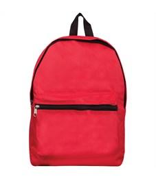 """Рюкзак ArtSpace """"Simple Street"""" 37*26*11см, 1 отделение, 1 карман, уплотненная спинка, красный"""