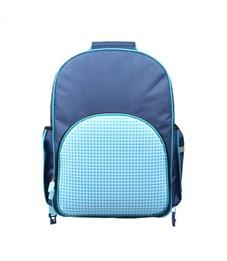 Рюкзак детский пиксельный на роликах Upixel Super Class Rolling Backpack WY-A024 Темно-синий