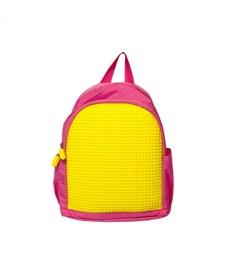 Рюкзак детский пиксельный Upixel MINI Backpack WY-A012 Розовый-Желтый