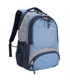 Рюкзак Grizzly, 31*48*24см, 2 отделения, 4 кармана, укрепленная спинка, синий