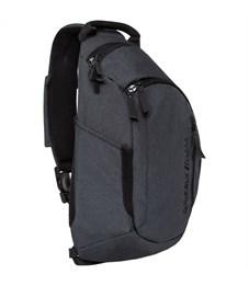 Рюкзак Grizzly, 32*46*11см, 1 отделение, 3 кармана, укрепленная спинка, 1 лямка, черный