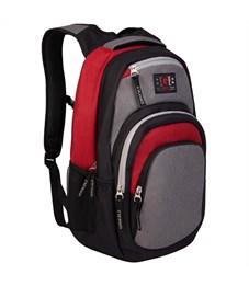 Рюкзак Grizzly, 33*48*21см, 1 отделение, 4 кармана, укрепленная спинка, серый