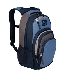 Рюкзак Grizzly, 33*48*21см, 1 отделение, 4 кармана, укрепленная спинка, синий
