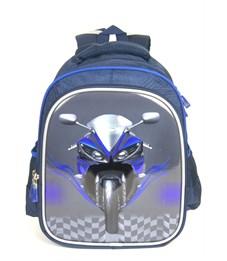Рюкзак школьный формованный облегченный Ufo People 3D 5260