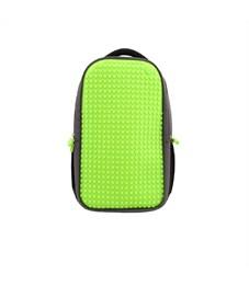 Рюкзак школьный пиксельный для ноутбука Upixel Full Screen Biz WY-A009 Зеленый