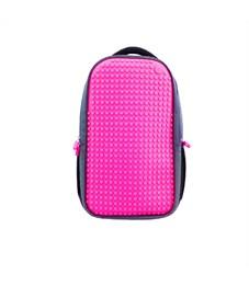 Рюкзак школьный пиксельный для ноутбука Upixel Full Screen Biz WY-A009 Фуксия