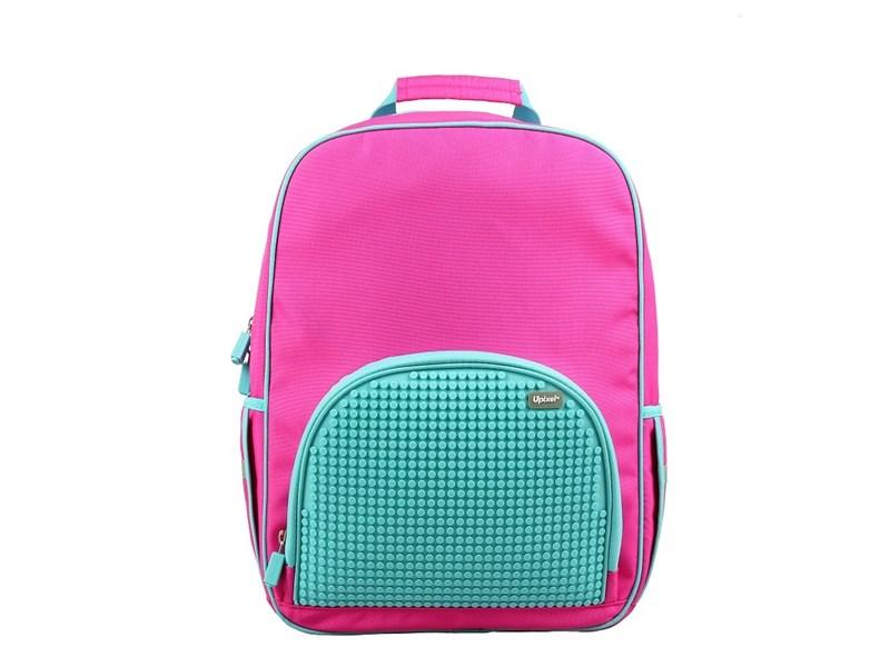 Рюкзак школьный пиксельный Upixel Bright Colors WY-A022-a Розовый