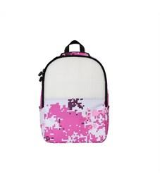 Рюкзак школьный пиксельный Upixel Camouflage Backpack WY-A021 Розовый