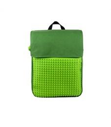 Рюкзак школьный пиксельный Upixel Canvas Top Lid WY-A005 Зеленый-зеленый
