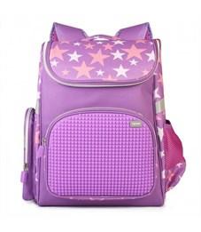 Рюкзак школьный пиксельный Upixel Game High WY-A039 Фиолетовый