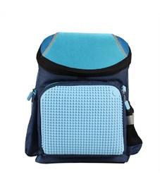 Рюкзак школьный пиксельный Upixel Super Class WY-A019 Темно-синий