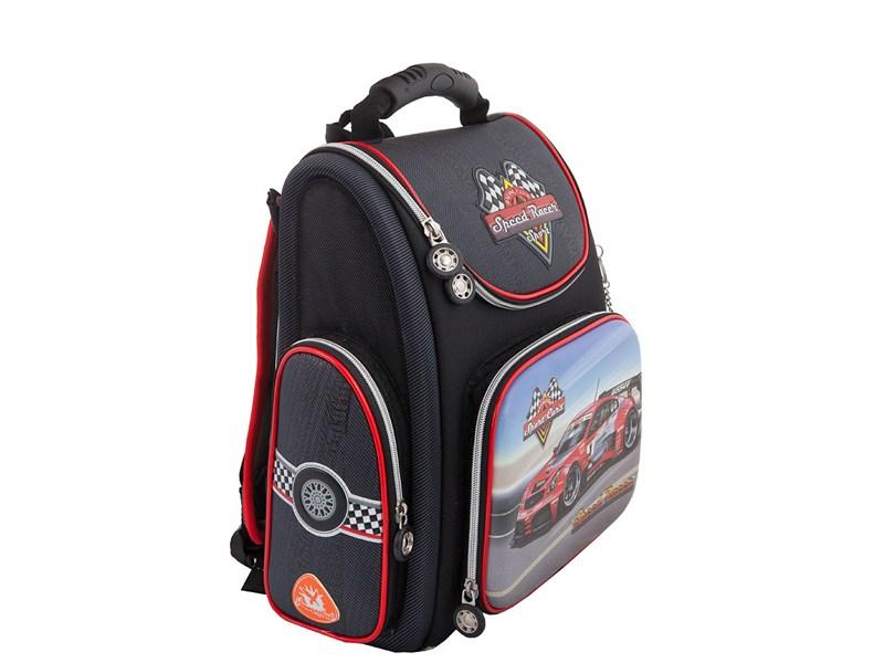 """Ранец школьный Hummingbird """"Speed racer"""" раскладной, K43"""